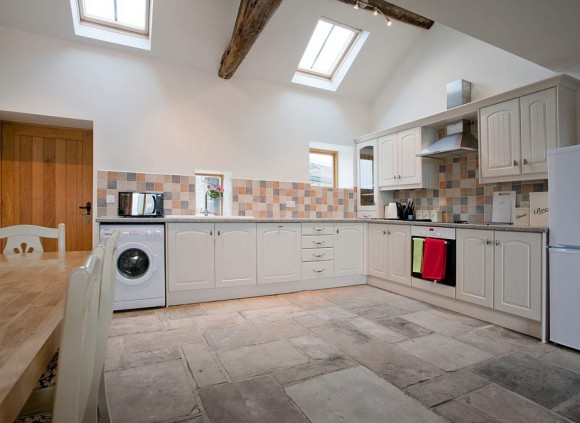 The open plan kitchen makes The Blacksmiths Shop ideal for entertaining.